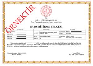 isaret dili ogretici ve tercuman egitimi sertifika ornegi